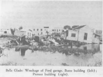 Belle Glade after 1928 hurricane