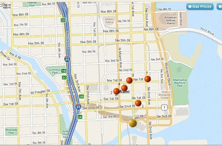 Miami observation history map 2