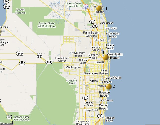West Palm Beach Weather Observation History