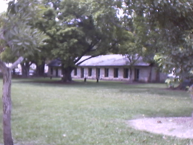 Fort Dallas Slave Quarters today
