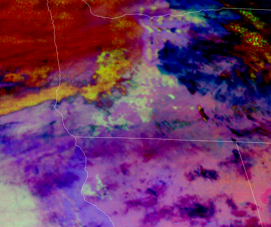 GOES 17 Fog Imagery
