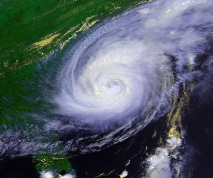 August 27, 1998 Hurricane Bonnie