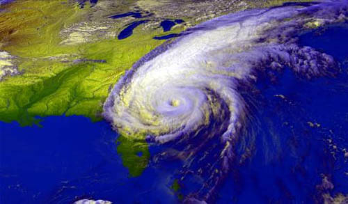 Hurricane Floyd Satellite Image