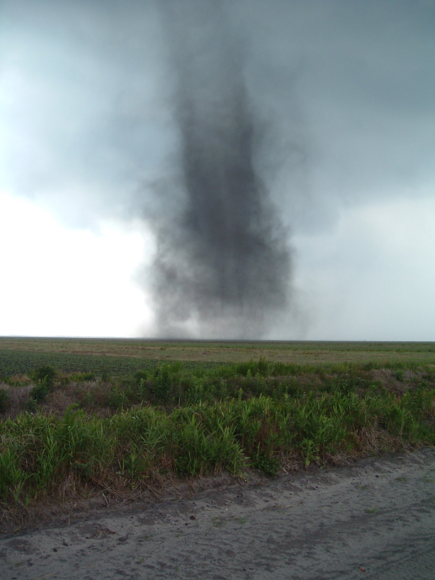 Tornado Over Open Grounds Farm - Click to Enlarge
