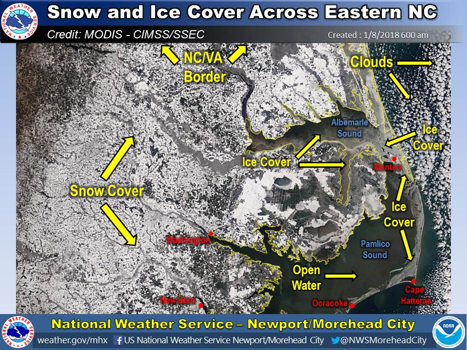 January 3-4 Snow/Ice and Record Cold Event