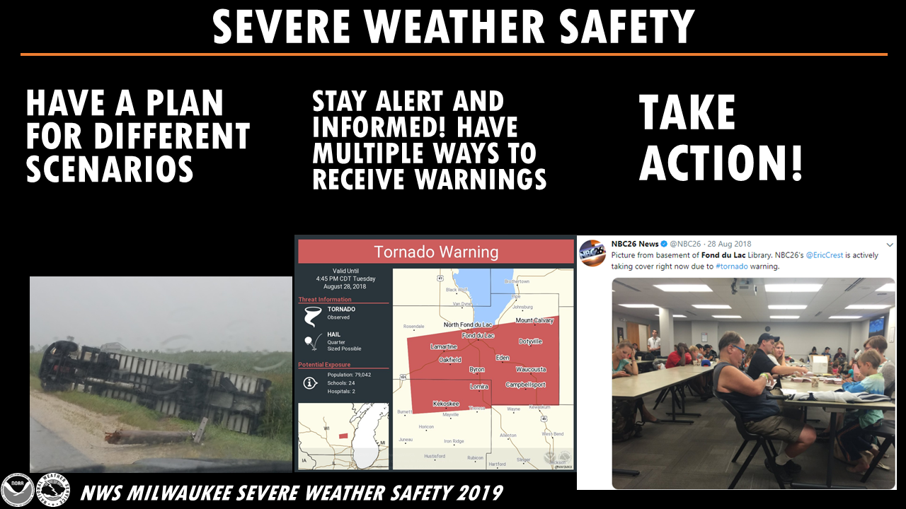 Have a plan...Stay Alert and Take Action!