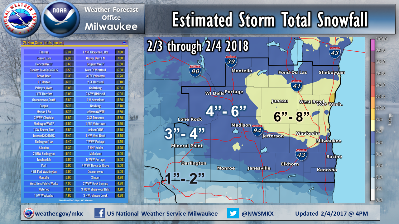 Snow Wrap Up for 2000/2000 and 2000/200 Updated 2000/200  620000 PM
