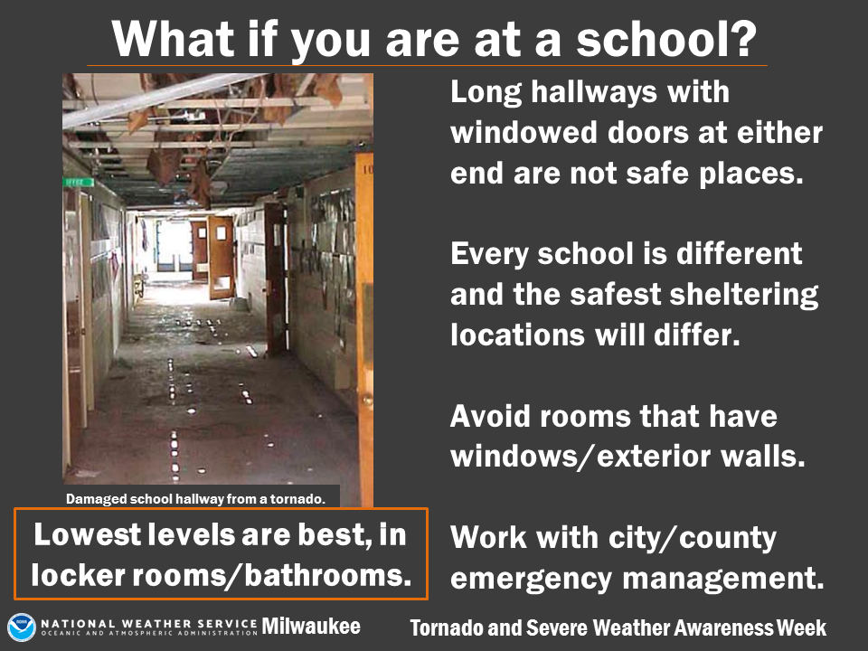 What if you are at school?