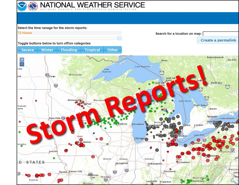Graphical Storm Reports
