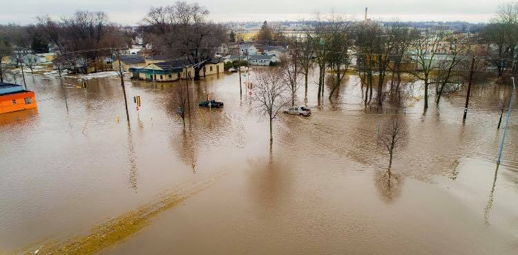 February 19 20th 2018 Flooding And Freezing Rain