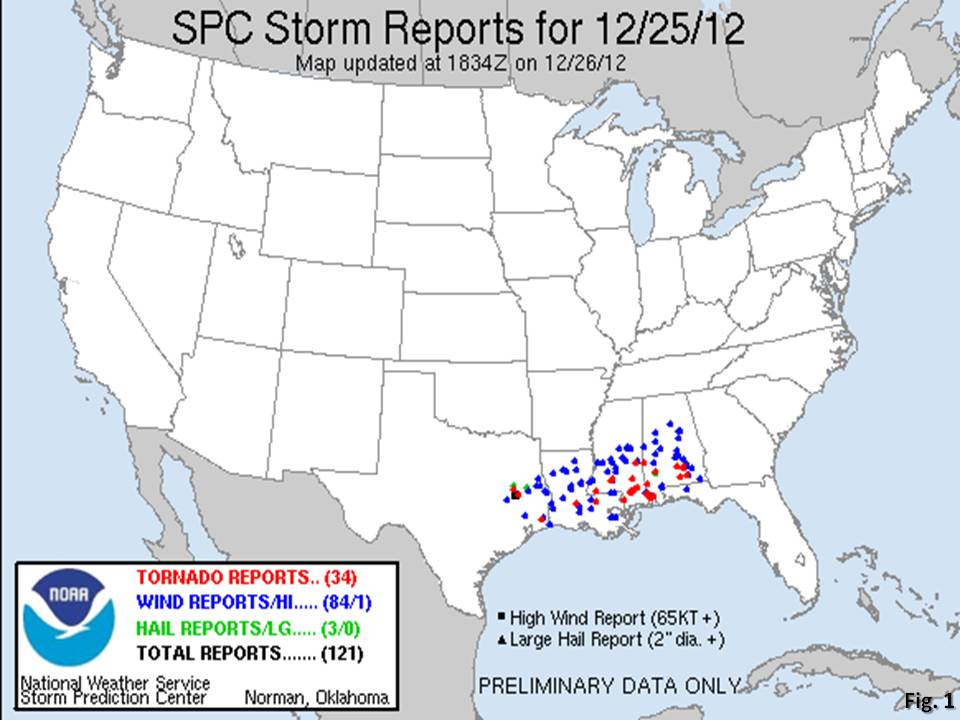 2012 Christmas Day Tornado in Mobile, AL