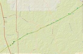 Perry County Tornado Path