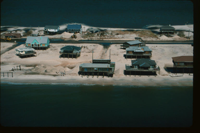 Dauphin Island after Georges