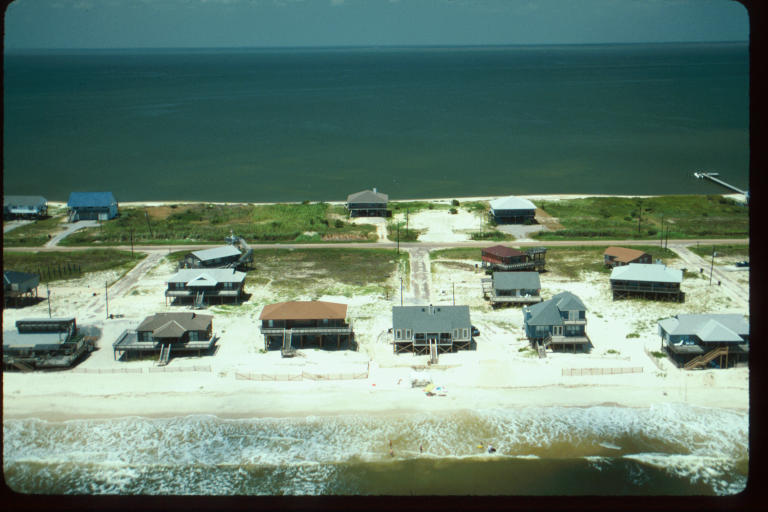 Dauphin Island before Georges