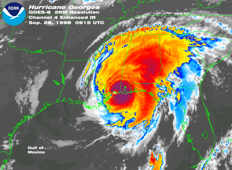 Hurricane Georges September 1998