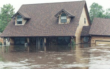 Home Flooded In Seminole, AL