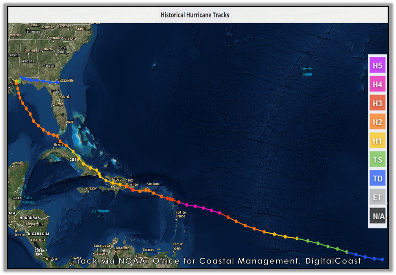 Hurricane Georges - September 1998