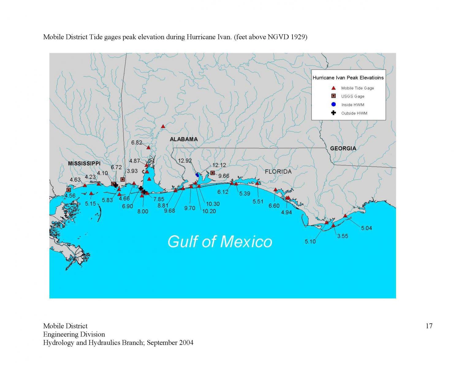 Life on the environmentally hazardous gulf of mexico for Tides for fishing pensacola