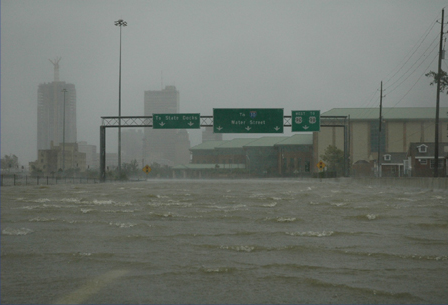 Hurricane Katrina - Pictures: Downtown Mobile