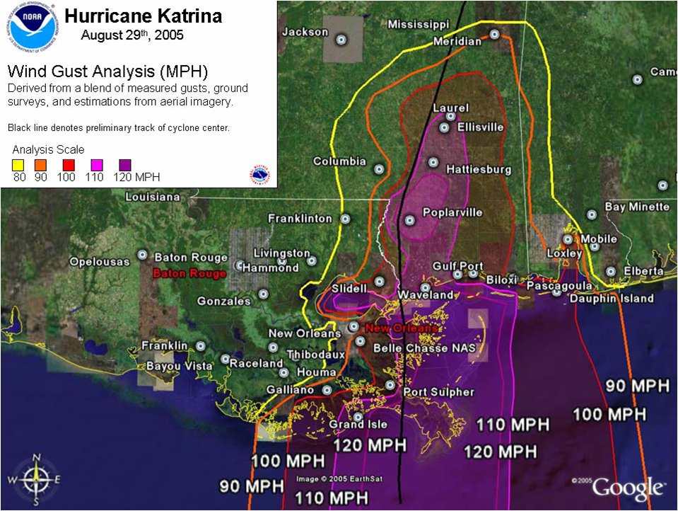 Hurricane Katrina August 2005