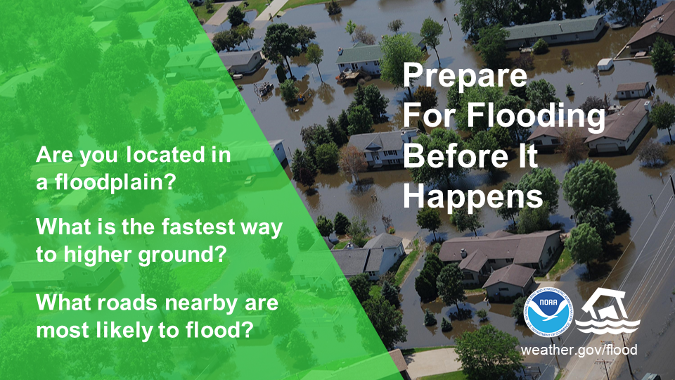 Prepare for Flooding Before It Happens