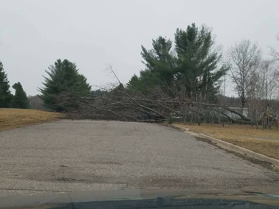 Severe Weather April 9-10, 2017