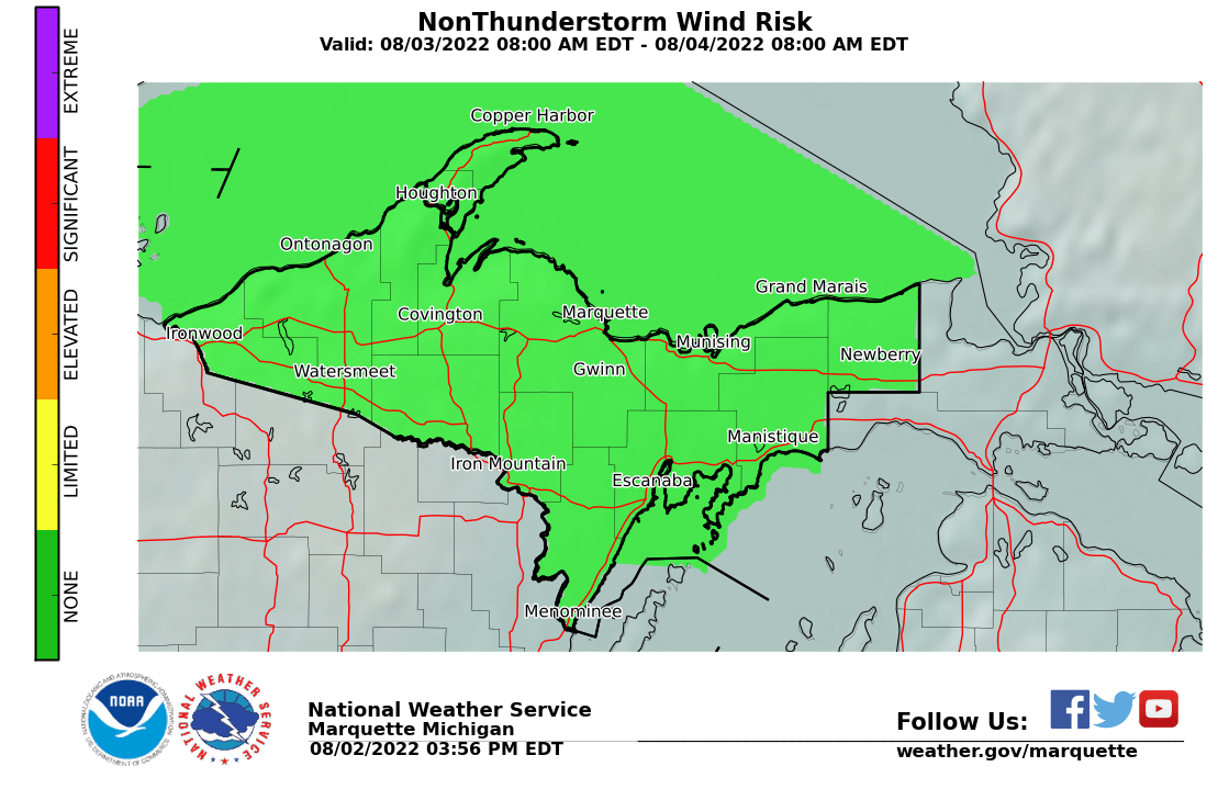 NWS Marquette Aviation Winds and Turbulence