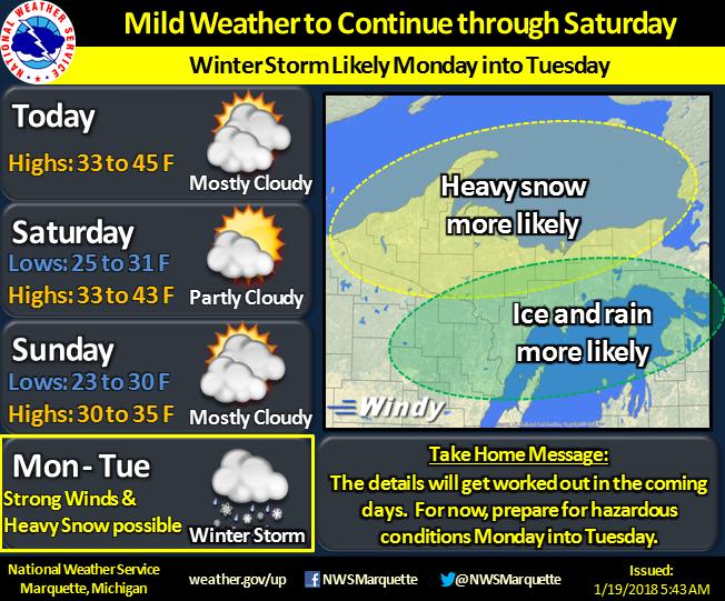 January 22 - 23 Winter Storm