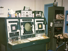 57 S band radar control and viewing console