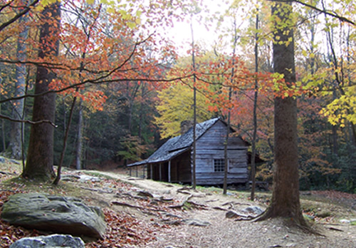 East TN Log Cabin Image