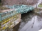 Photograph of the Sudbury River at Saxonville, MA (SAXM3) looking upstream