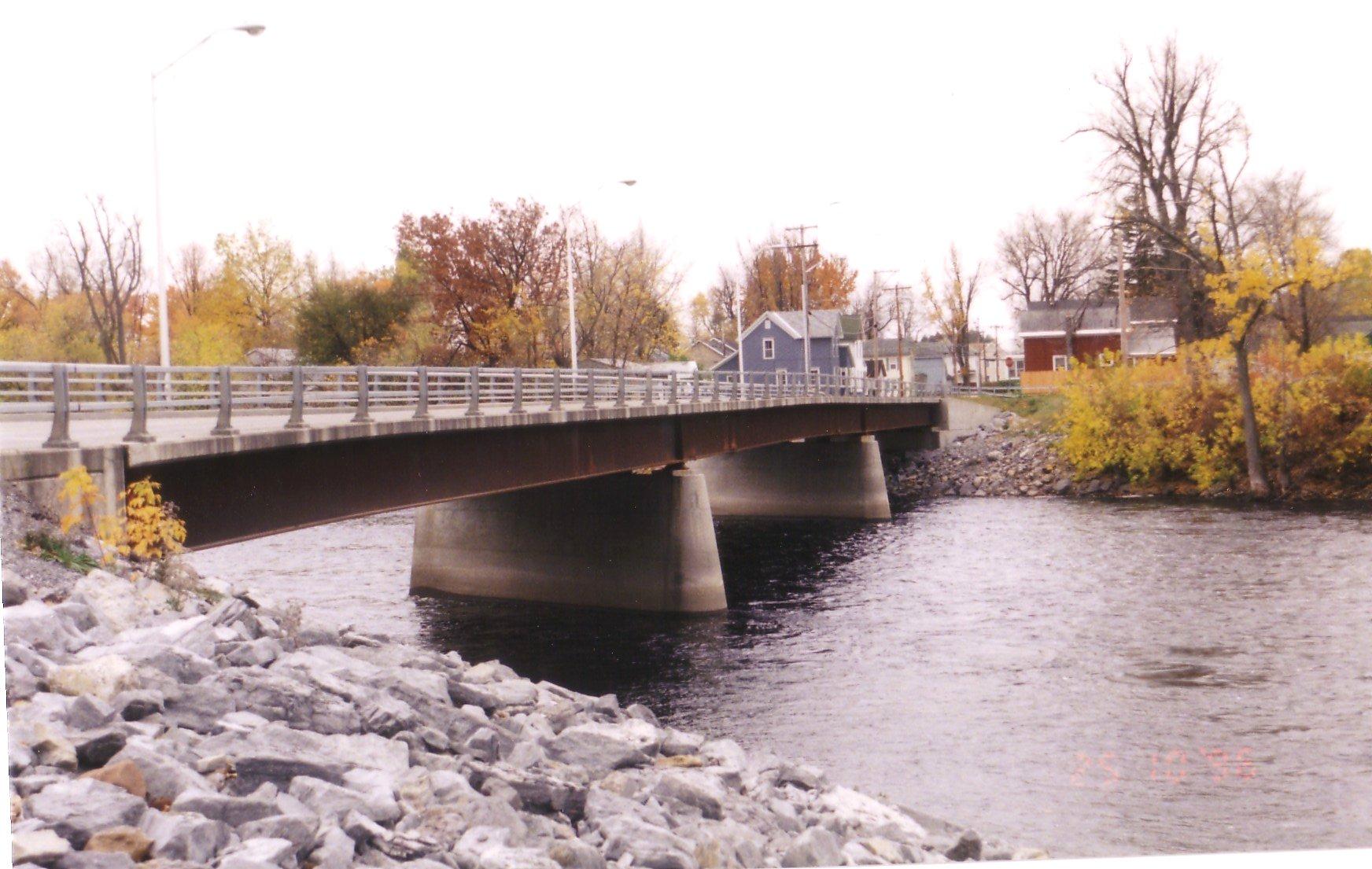 Photograph of the Black River At Watertown, NY (ARTN6)