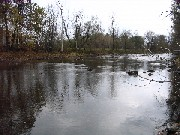 Photograph taken upstream from the Great Chazy River at Perry Mills, NY (CZRN6)