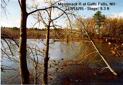Photograph of the Merrimack River at Goffs Falls, NH (GOFN3)