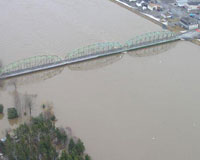 Photograph of International Bridge between Maine and New Brunswick