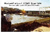 Photograph of the Merrimack River at Lowell, MA (LOWM3) power dam