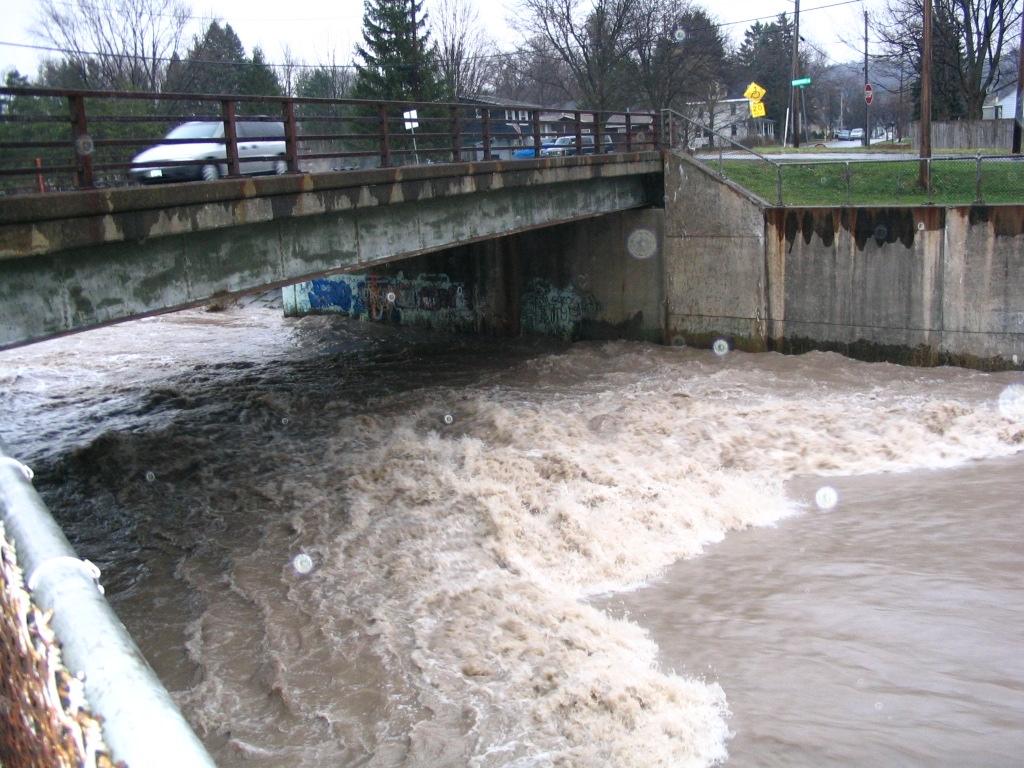 Photograph of the Onondaga Creek at Syracuse, NY (ONDN6)