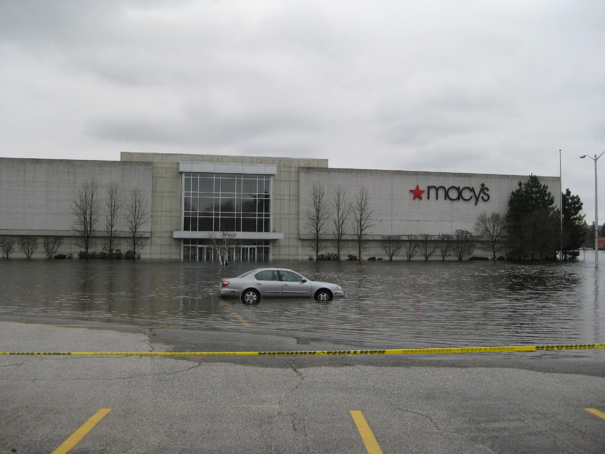 Rhode Island Mall Flood