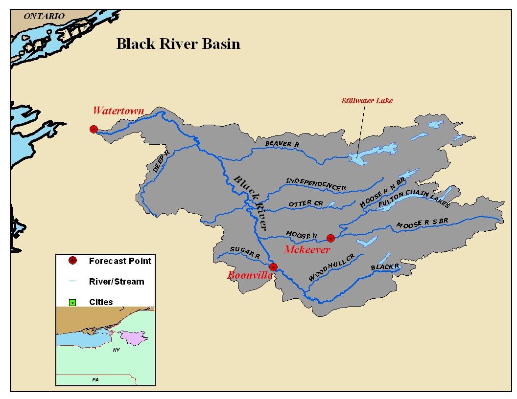 Map Of New York Rivers.Great Lakes River Basin Photos