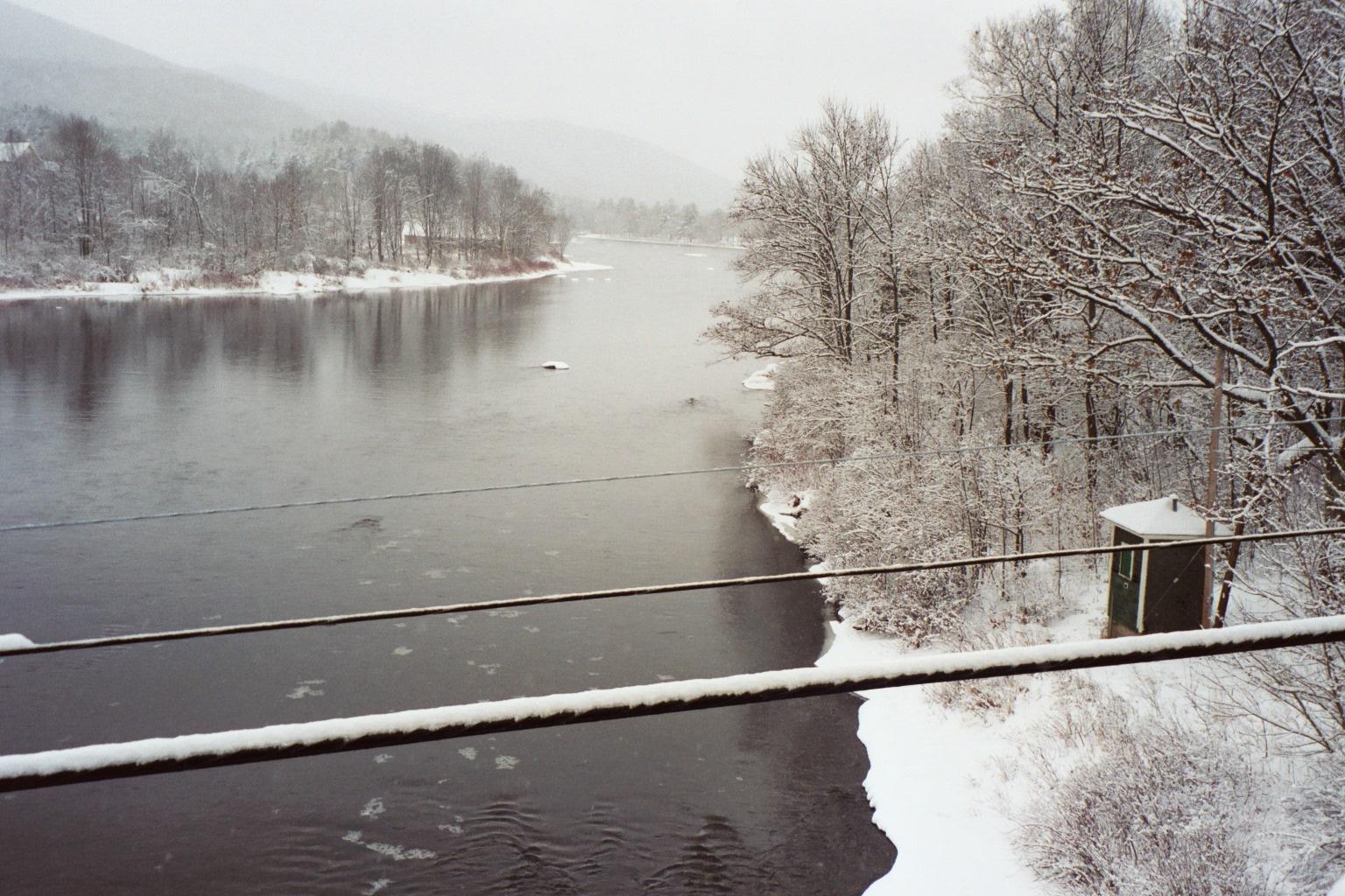 Hudson River Near North Creek New York