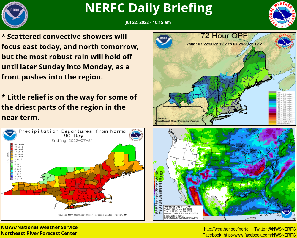 NERFC Graphical Hydrometeorological Discussion
