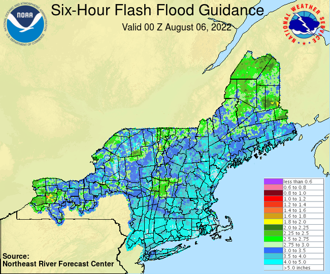 Flash Flood Guidance