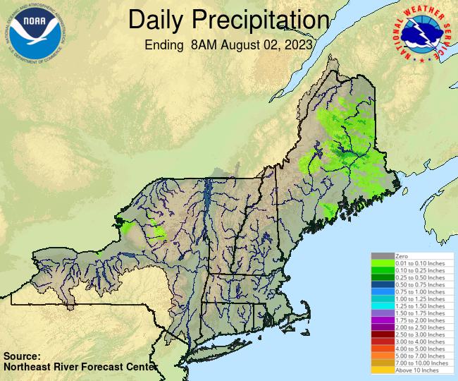 NERFC Observed Precipitation