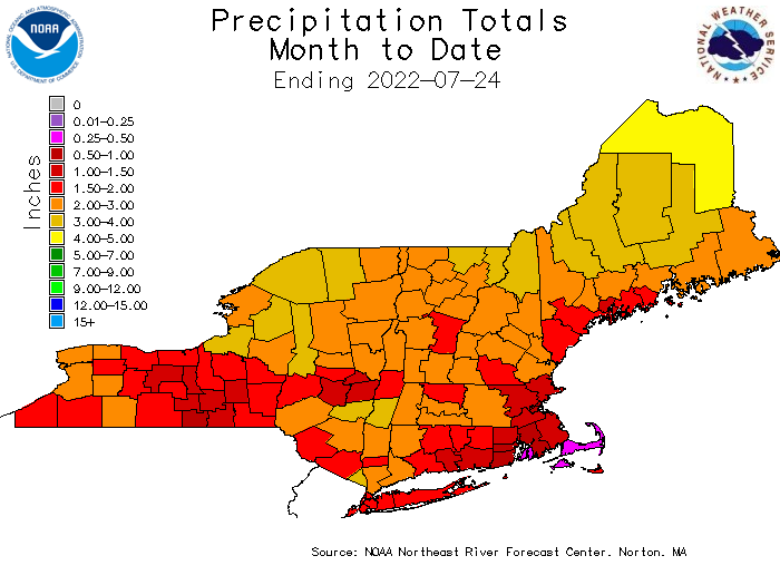 Month To Date Precipitation
