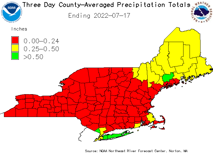 3 Day Precipitation
