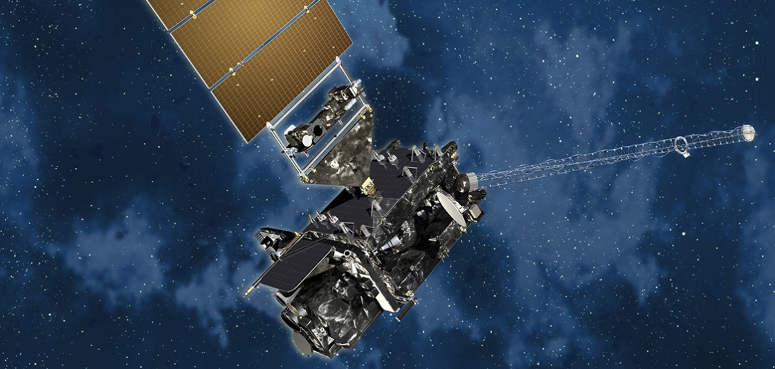 Artistic rendition of GOES-R, NOAA's next-generation geostationary weather satellite.