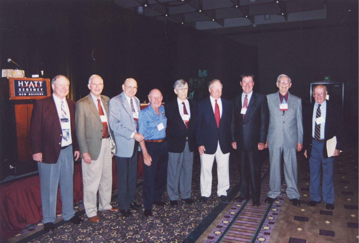 Some of the past directors of the National Hurricane Center at a past Hurricane Conference in New Orleans, LA.