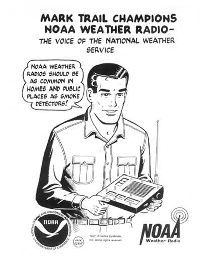 Mark Trail Champions NOAA Weather Radio