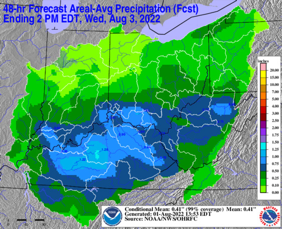 OHRFC QPF map/link