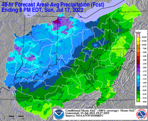 Latest HAS-generated QPF